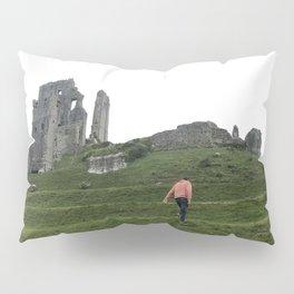 Corfe Castle Wanderlust medieval Pillow Sham