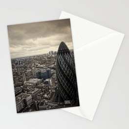 London from the 39th floor Stationery Cards