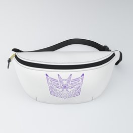 Decepticon Tech Purple Fanny Pack