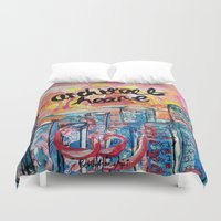 architect Duvet Covers featuring Architect Heart by Anwar B