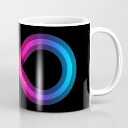 Neurodiversity Symbol - Rainbow Spectrum Infinity Knot Coffee Mug