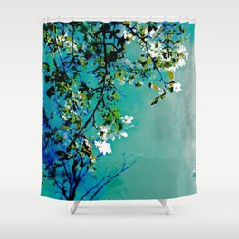 Spring Synthesis IV Shower Curtain