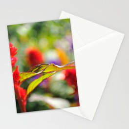 FLOWER VEINS Stationery Cards