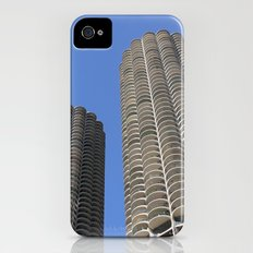 marina city // wilco towers iPhone (4, 4s) Slim Case