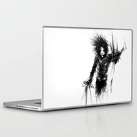 edward scissorhands Laptop & iPad Skins featuring Edward Scissorhands by Karbon-K