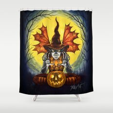 From the Dust to the Grave Shower Curtain