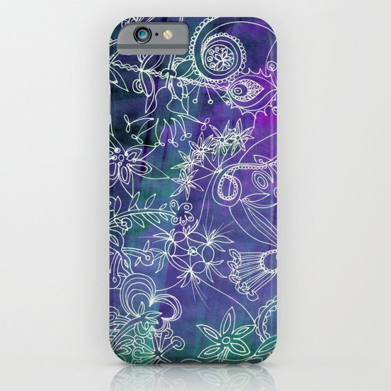 Insidious Flowers iPhone & iPod Case