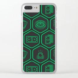 Casino Clear iPhone Case