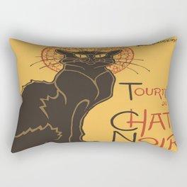 Tournee du Chat Noir De Rodolphe Salis Vector Rectangular Pillow