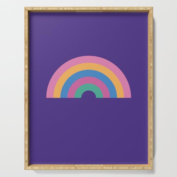 Rainbow Serving Tray