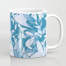 Pattern blue 155 Coffee Mug