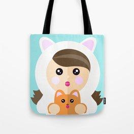 I'm a ladycat Tote Bag