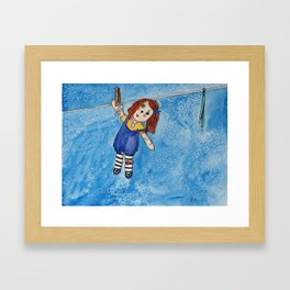 Sourire Formel Framed Art Print
