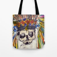 indiana jones Tote Bags featuring Indiana jones till the end by MGNFQ