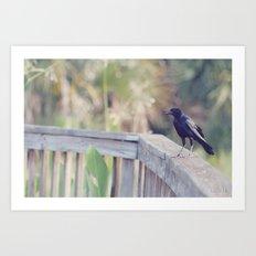 Bird Speak Art Print