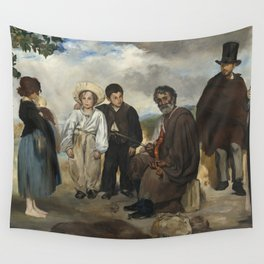 Edouard Manet The Old Musician 1862 Painting Wall Tapestry