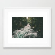Mckenzie River Framed Art Print