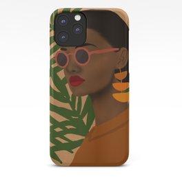 girl in shades iPhone Case