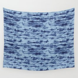 Stratus Denim Wall Tapestry
