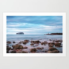 Bass Rock And The Beacon Art Print