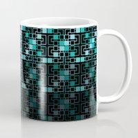 geo Mugs featuring Geo by MICALI/ M J