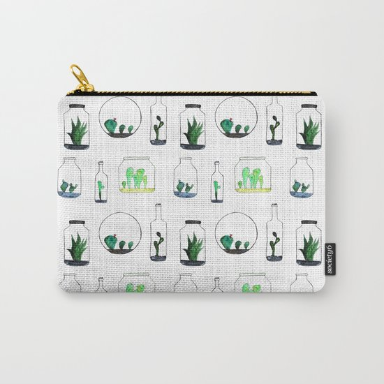 Bottled cactuses Carry-All Pouch