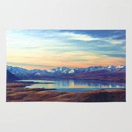 Lake Tekapo New Zealand-Fall Rug