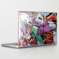 grafitti Laptop & iPad Skins featuring Grafitti by Anna Mundy