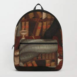 Vermont Lawyer Oil Painting by Horace Bundy Backpack