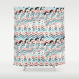 fashion show Shower Curtain