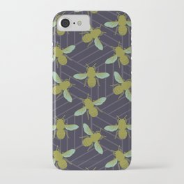 Art Deco Bees II iPhone Case