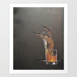 Henny Str8 No.2 Art Print