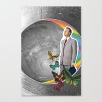 boyfriend Canvas Prints featuring Future Boyfriend by Dana Fortune