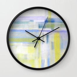 Splintered Sunlight Wall Clock
