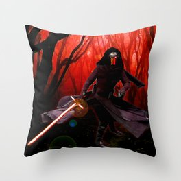 Kylo Ren - The Force Awakens Throw Pillow