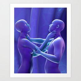 Worth Each Other Art Print