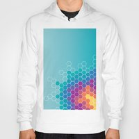 honeycomb Hoodies featuring Honeycomb by AleyshaKate
