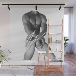 4 HANDED HANDSOME BY ROBERT DALLAS Wall Mural