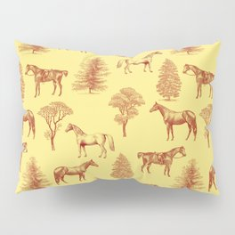 HORSES IN THE FOREST  Pillow Sham