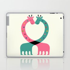 Love With Heart Laptop & iPad Skin
