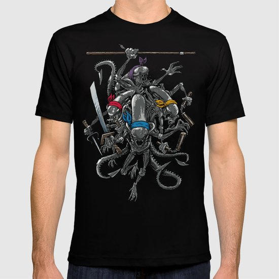 Ancient Ninja Xenomorphs T-shirt