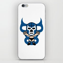 LUCHA#15 iPhone Skin