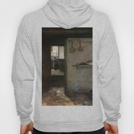 Cellar Interior By Johan Hendrik Weissenbruch | Reproduction Hoody