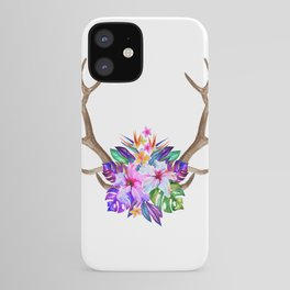 Floral Horn iPhone Case