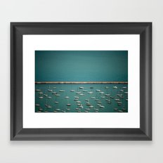 I'm On A Boat II Framed Art Print