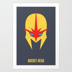 Nova - Bucket-Head Art Print