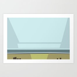 Santa Monica Horizon 0114 Art Print