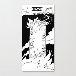 XVI - The Tower Canvas Print