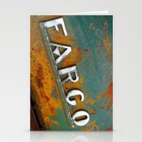 fargo Stationery Cards featuring Fargo by Photo by Malin Linder