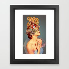 Freud vs Jung Framed Art Print
